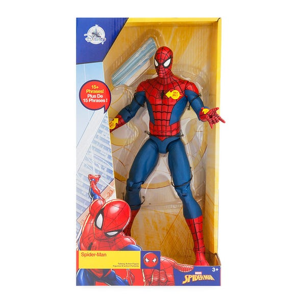 Spider-Man Talking Action Figure is among the Top 15 Toys for 2018 from shopDisney and Disney store.