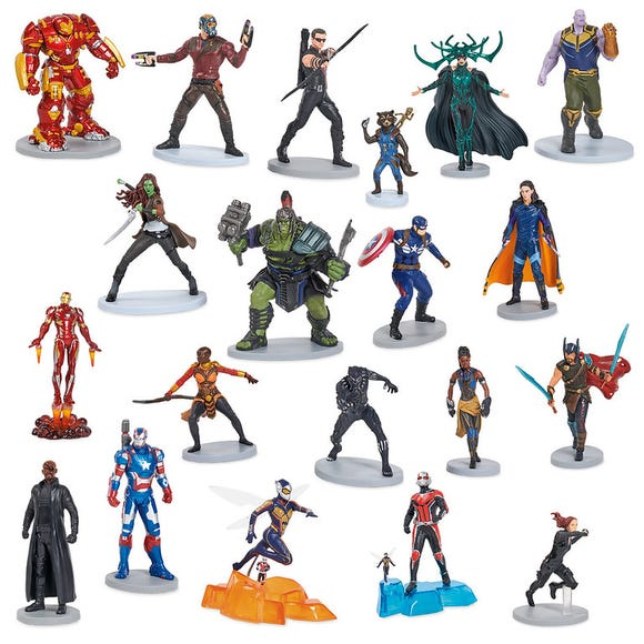 Marvel Universe Mega Figure Set is among the Top 15 Toys for 2018 from shopDisney and Disney store.