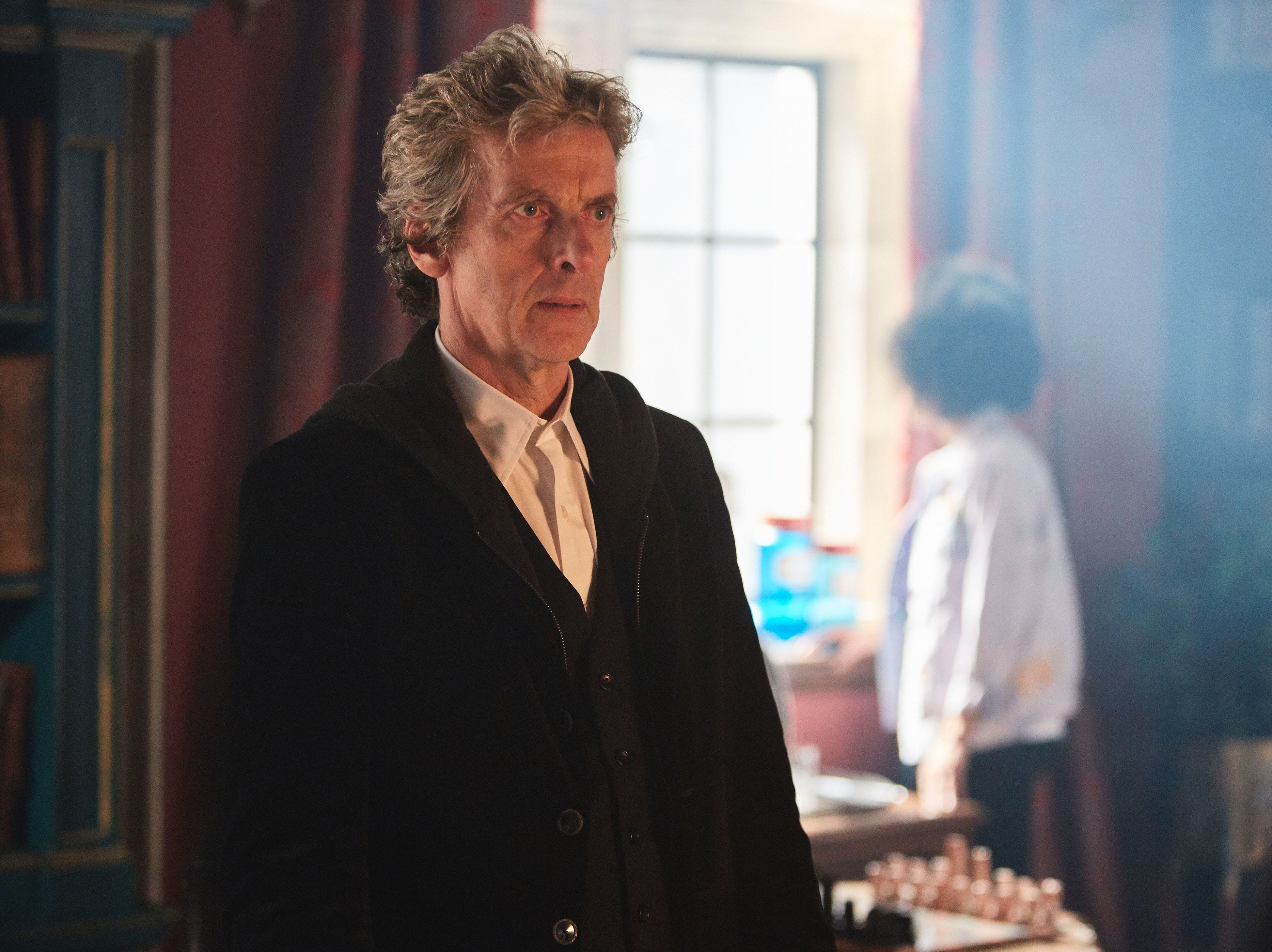 """In 2014, Peter Capaldi became the Twelfth Doctor, taking over the Tardis for three seasons. He announced his departure in 2017 along with longtime showrunner Steven Moffat. His most recent work including playing the voice of Rabbit in this year's """"Christopher Robin."""""""