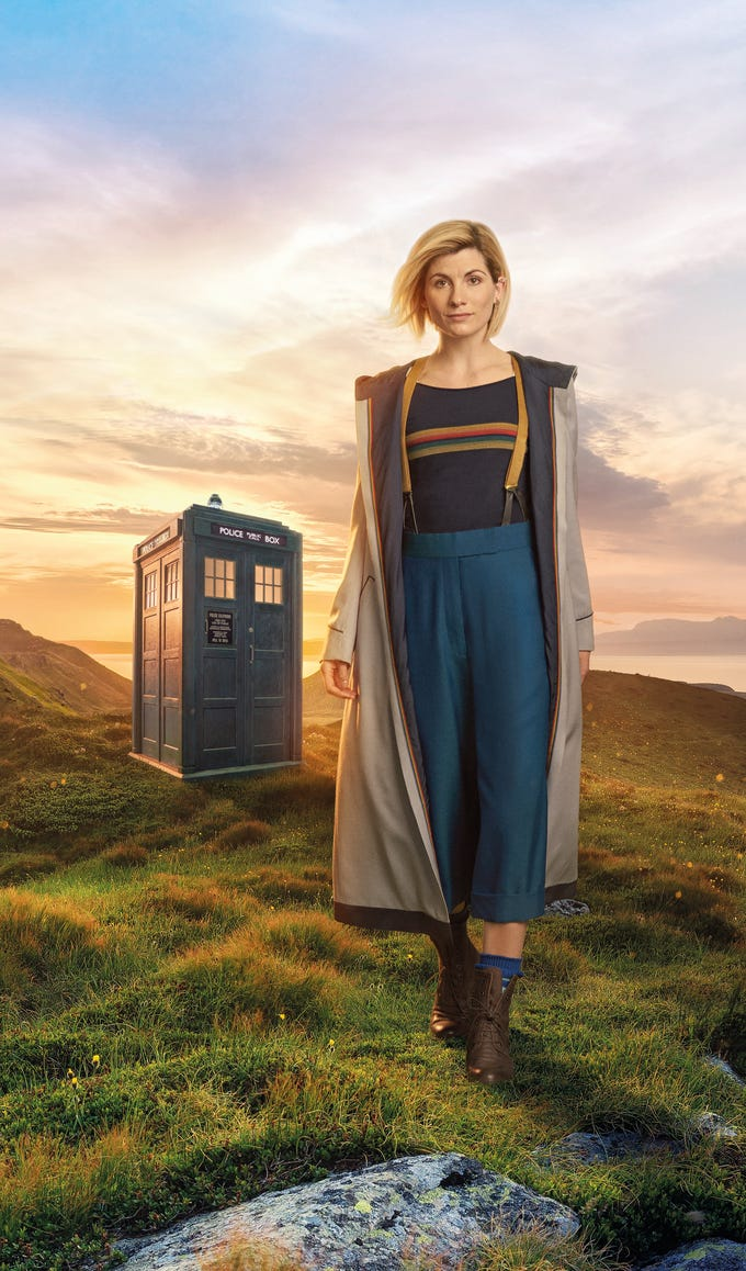 """Jodie Whittaker is the Thirteenth Doctor to take over the Tardis on """"Doctor Who,"""" making her debut on Oct. 7. Since the show's reboot in 2005, there have been five Doctors -- Whittaker is the fifth -- who have traveled the universe with a number of companions along for the adventure. To catch up in time for the new season, here are the other Doctors and their notable companions."""