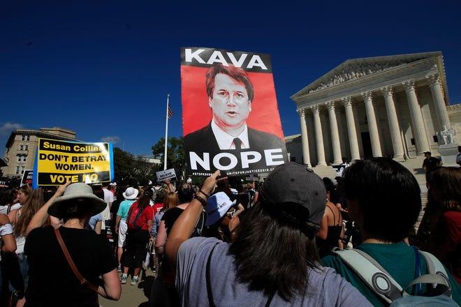 At the Supreme Court on Oct. 4, 2018.