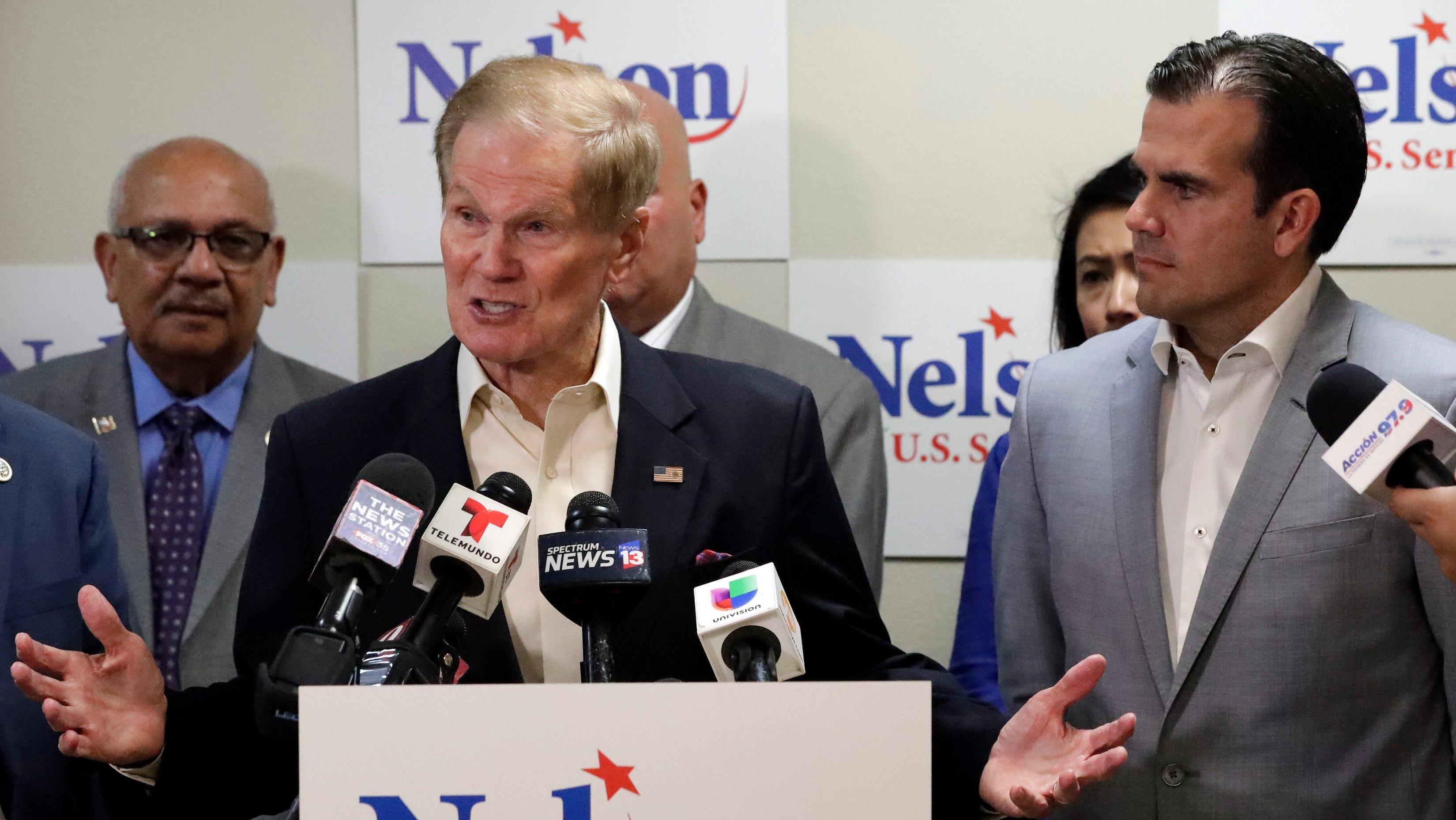 Sen. Bill Nelson and Donald Trump: 10 key votes the Florida Democrat cast in the Trump era