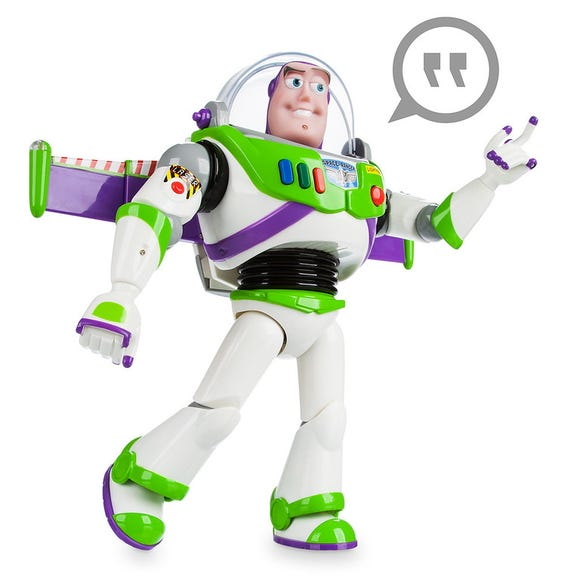 Buzz Lightyear Talking Action Figure is among the Top 15 Toys for 2018 from shopDisney and Disney store.