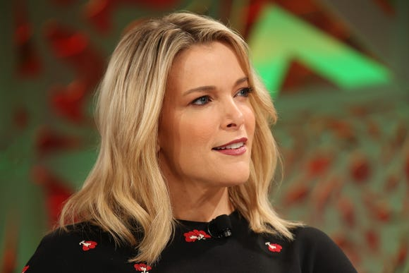Megyn Kelly speaks onstage at the Fortune Most Powerful Women Summit 2018 in Laguna Niguel, California on Oct. 2.