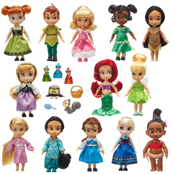 Disney Animators Collection Mini Doll Gift Set 5 is among the Top 15 Toys for 2018 from shopDisney and Disney store.