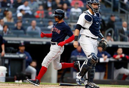 Mlb Boston Red Sox At New York Yankees