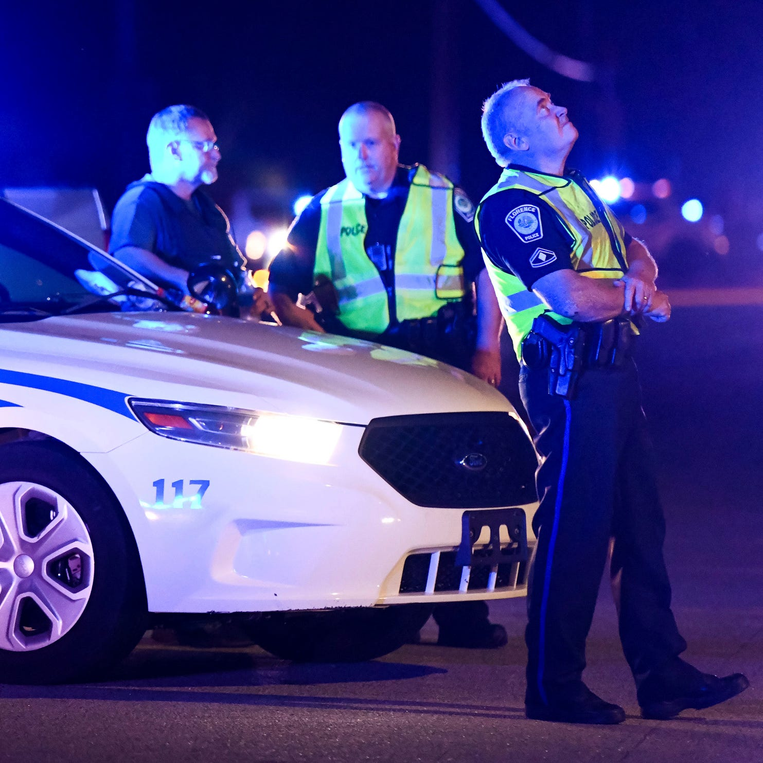 'Fire was being shot all over': 6 officers hurt, 1 dead in South Carolina shooting