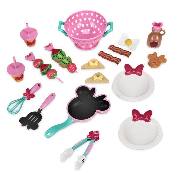 Minnie Mouse Brunch Cooking Set is among the Top 15 Toys for 2018 from shopDisney and Disney store.