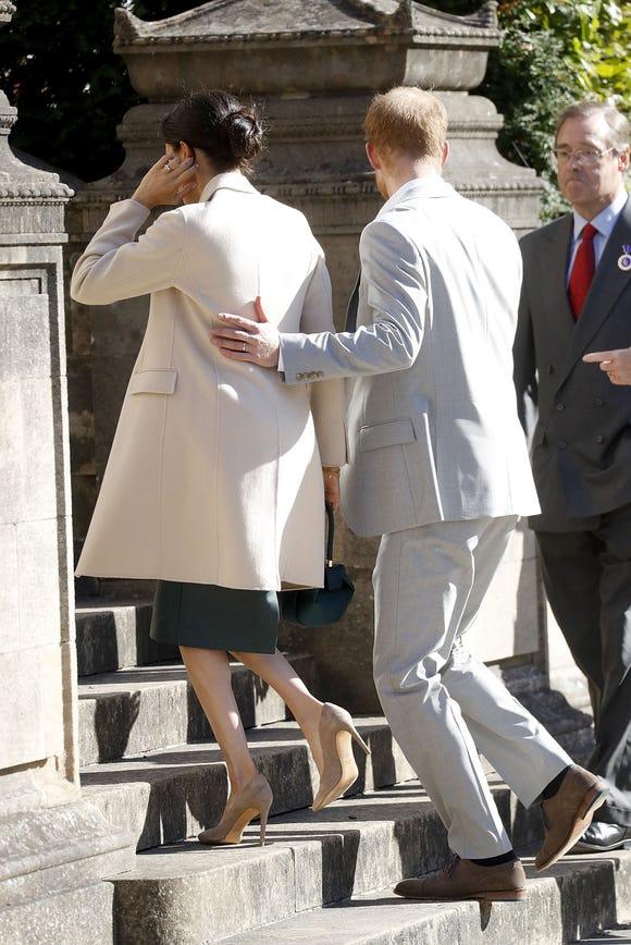 """Babe, I've got your back,"" Harry, probably."