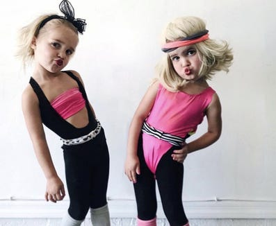 toddler internet stars mila and emma nab kris jenner for halloween spot