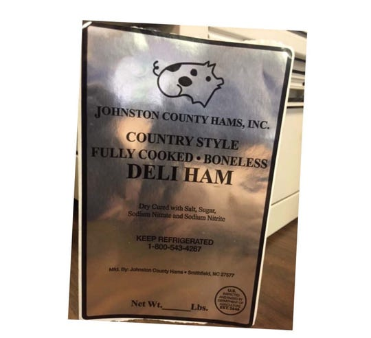 One death and three illnesses have been linked to listeria contamination in ready-to-eat ham products made by Johnson County Hams in Smithville, North Carolina, according to the USDA.