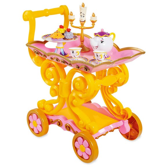 Belle Tea Cart is among the Top 15 Toys for 2018 from shopDisney and Disney store.