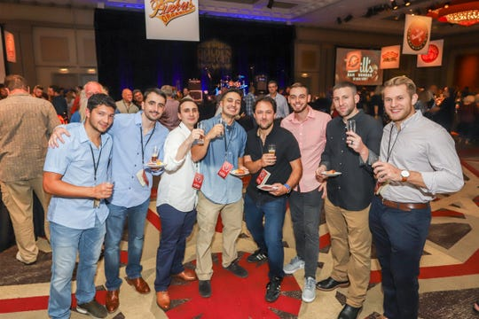 Scenes from the Craft Beer Festival at the Golden Nugget Casino, Hotel and Marina in Atlantic City on Saturday, Sept. 29.