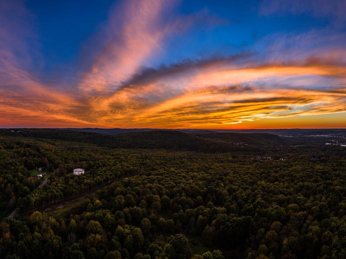 Dave Foland of Vestal captured this brilliant fall sunset on Sept. 29, 2018.