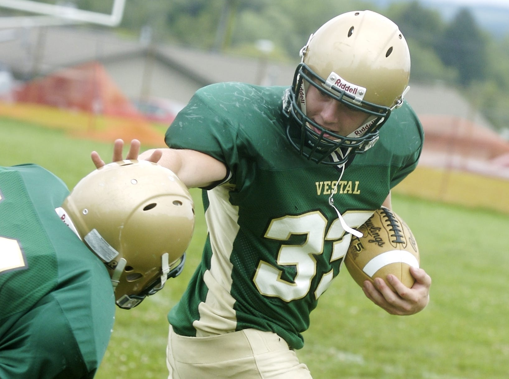Vestal High School football- #33, Chris Cook, 2007