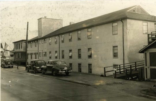 The hospital in the 1940s.
