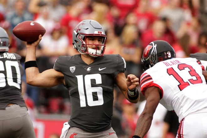 Gardner Minshew II threw for 445 yards and three touchdowns last week in leading the Cougars to a win over Utah.
