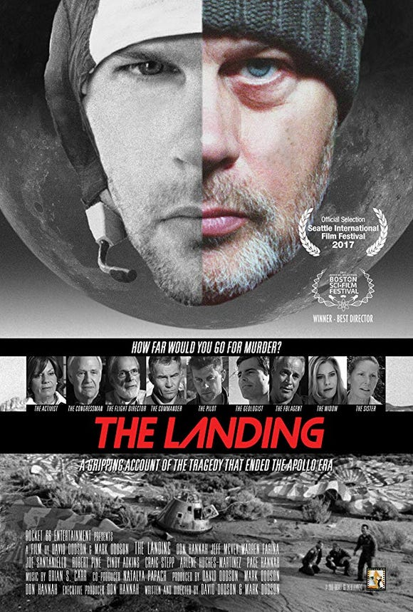 """The Landing,"" about the Apollo 18 moon mission, screens Oct. 25 at the Roxy Theatre in Bremerton."
