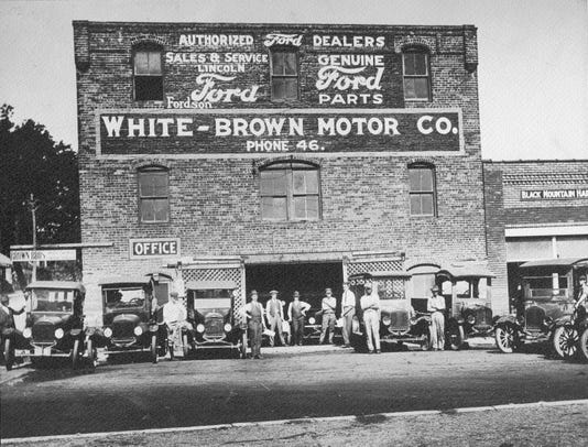5 White Brown Motor Co Then On Sutton St