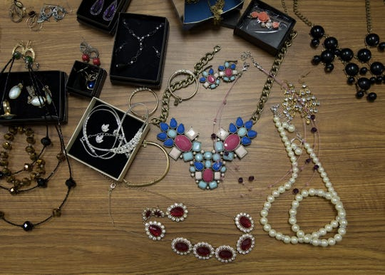 Not only has Project GLAM! collected formal dresses and shirts for students to wear, but they also have shoes and jewelry that students can look through and get if needed.