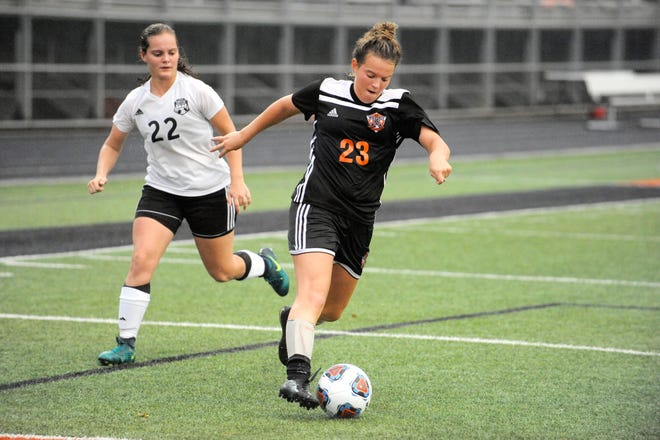 Waverly High School girls soccer defeated Portsmouth West 5-0 on Wednesday in their regular season finale at Portsmouth West High School.