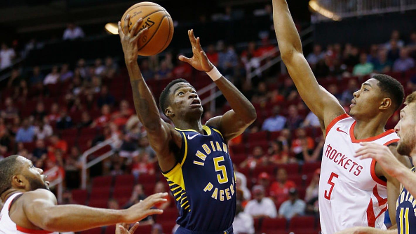e4e0d4c77 Edmond Sumner  Indiana Pacers start former XU star against Warriors