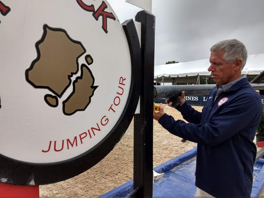 Local show jumping official enjoys work