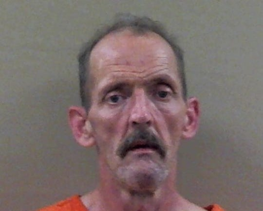 Kirby Wallace, booked into the Stewart County Jail, after his arrest on Friday, Oct. 5, 2018.