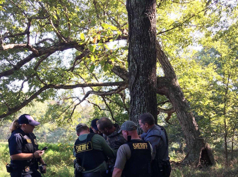 Kirby Wallace is taken into custody.