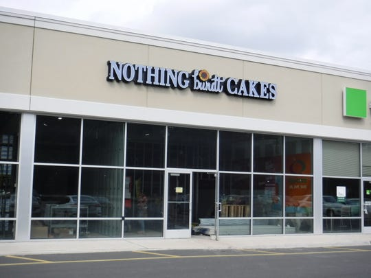 "A ""Nothing Bundt Cakes"" franchise — the second location in New Jersey, is being built out on Route 1 South in North Brunswick."