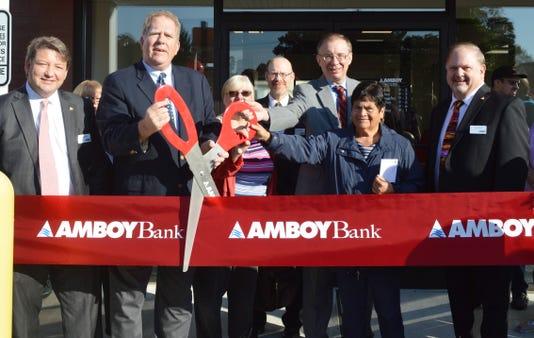 Amboy Bank celebrates Sayreville branch renovation PHOTO CAPTION