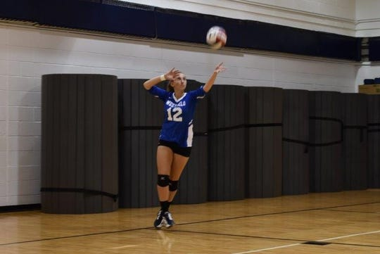 Westfield girls volleyball player Samantha Colucci was voted the MyCentralJersey.com Athlete of the Week.