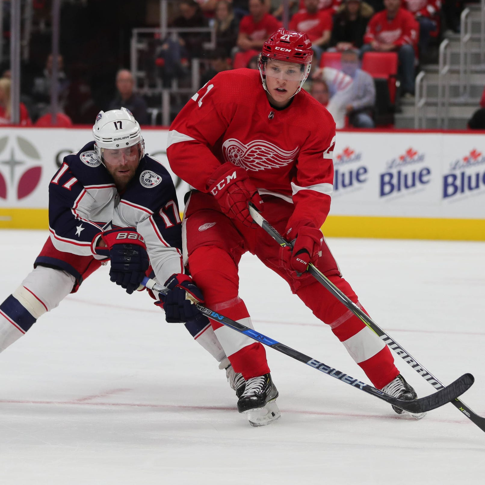 Why Dennis Cholowski is 'a real bright spot' for Detroit Red Wings