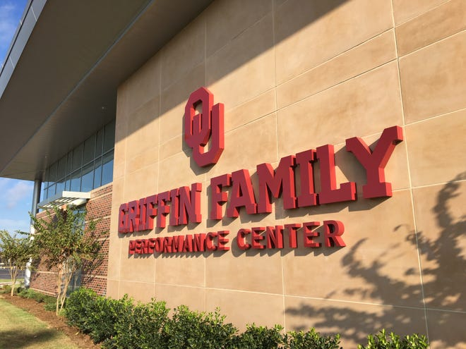 The University of Oklahoma dedicated the Griffin Family Performance Center this summer, an athletic facility to be used by the men's and women's basketball teams. Detroit Pistons power forward Blake Griffin had the largest donation to build the $7 million project. Griffin starred at Oklahoma for two seasons (2007-09). The Pistons conducted a practice there Thursday.