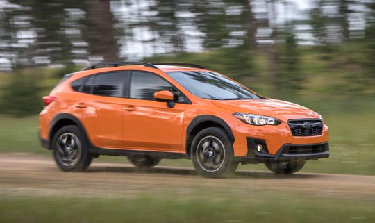 The 2018 Subaru Crosstrek's height and big windows provide good visibility.