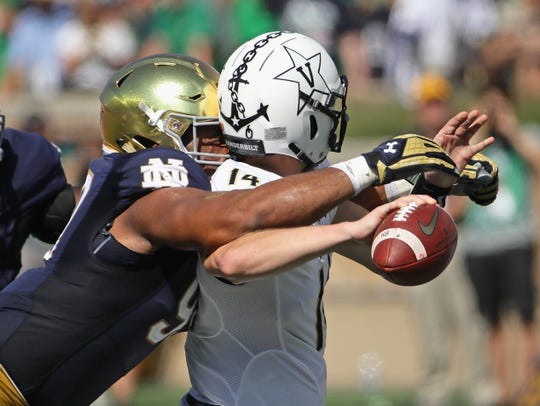 Notre Dame's Jerry Tillery could be a fit in the Lions' draft plans.