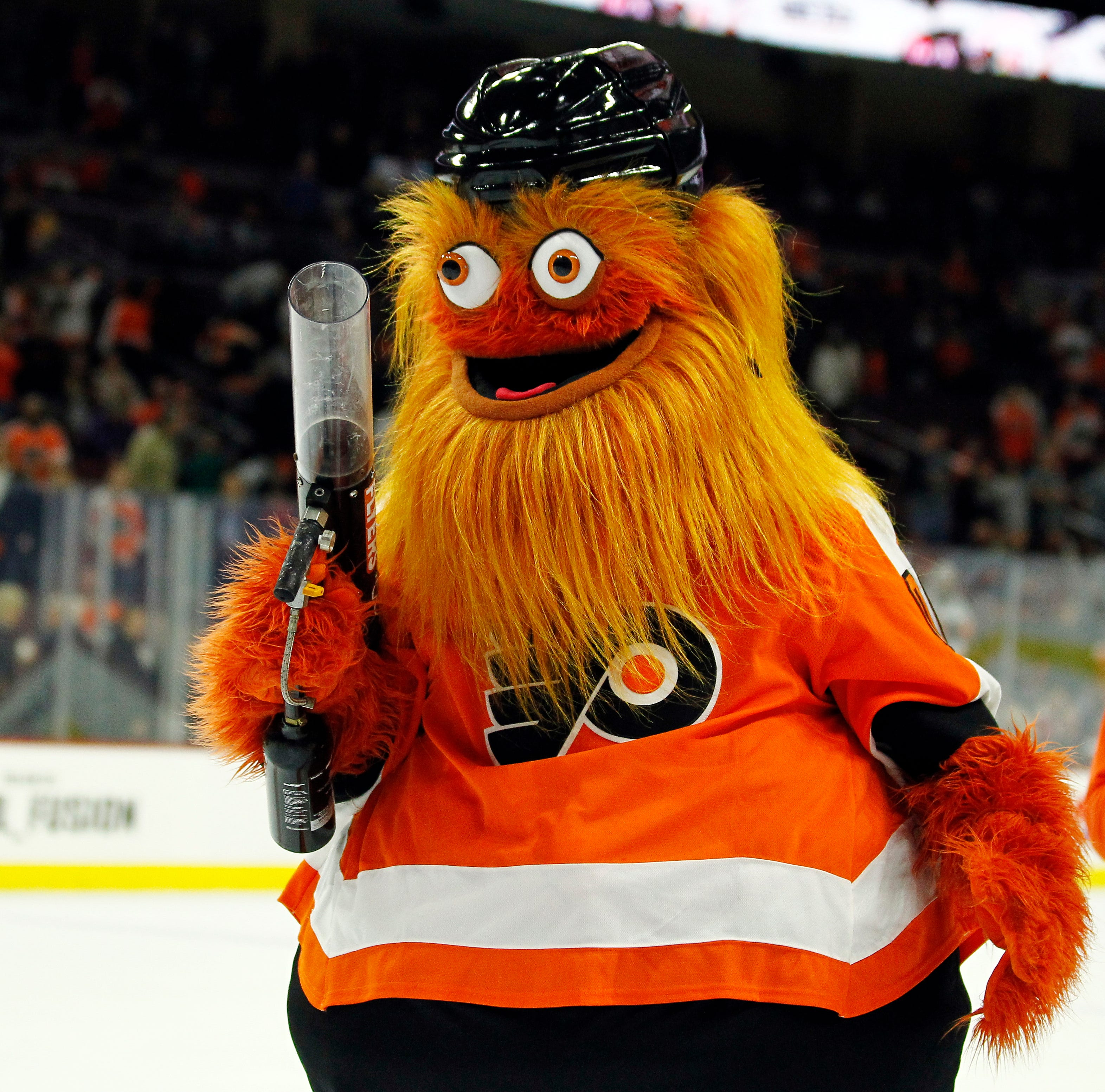 Thursday's NHL: New Flyers mascot has Gritty appeal