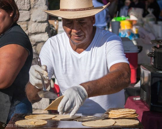 Tortillas at Fiesta Evansville will be made right on-site.