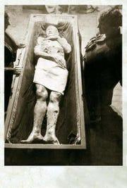 Photo of the Eigenman giant.