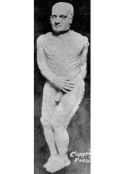 Photo of the Cardiff Giant.