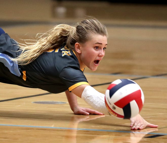 Sheboygan North senior Dru Kuck was named the inaugural Lakeshore Elite volleyball player of the year, which combines Manitowoc and Sheboygan counties.