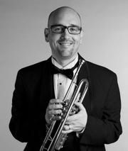 UW-Green Bay assistant professor Adam Gaines will perform with the N.E.W. Concert band at its fall concert on Oct. 21.