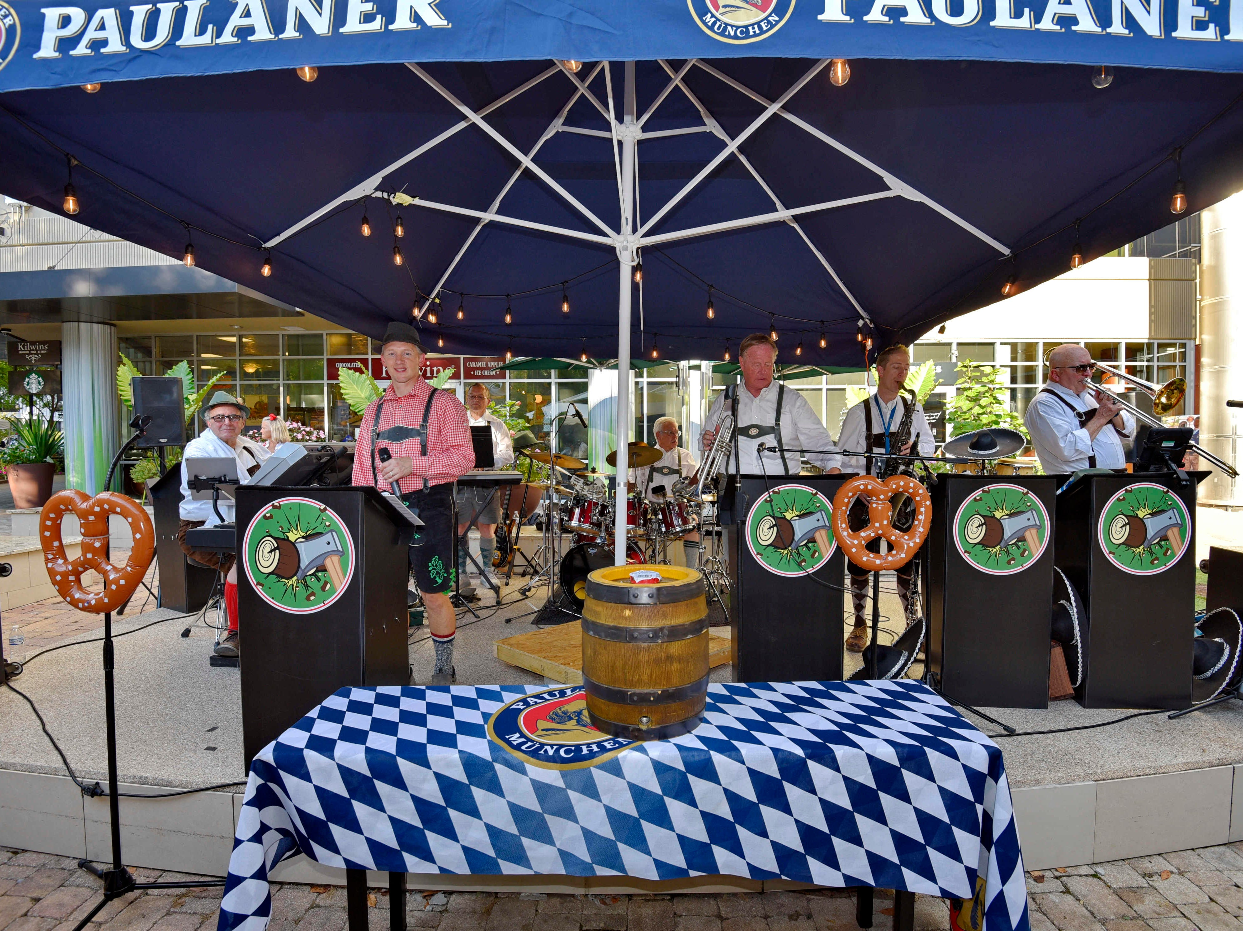Oktoberfest kicked off at NOMA Square in downtown Greenville Thursday, Oct. 4,  2018.