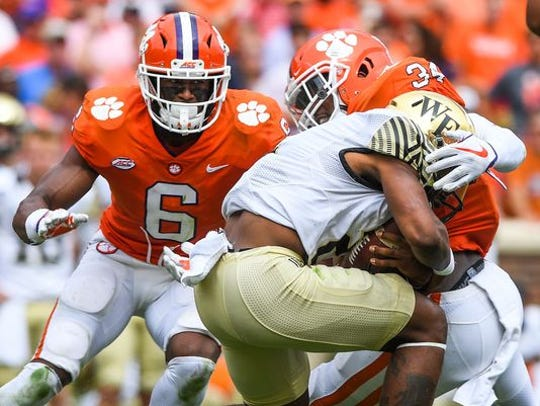 Clemson will attempt to extend its winning streak against Wake Forest to 10 straight games on Saturday.