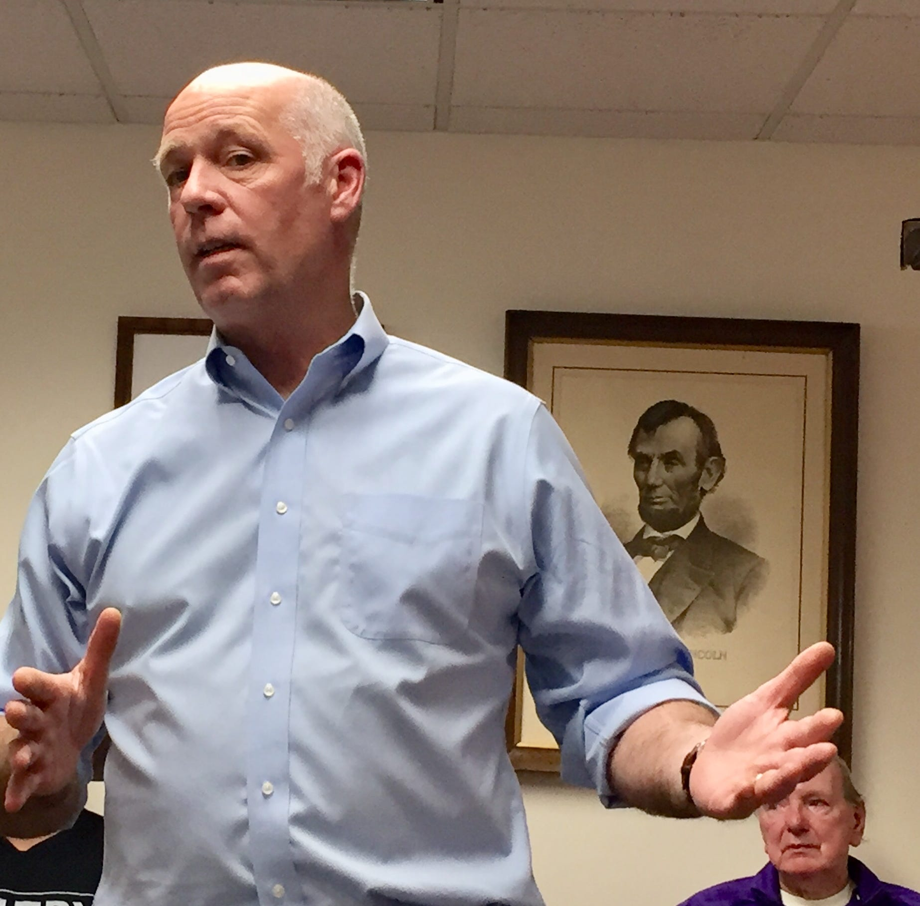 Gianforte stresses stark contrast of ideas in race