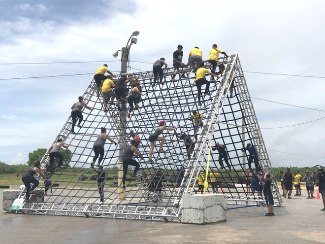 The Trench Challenge was held Sept. 30 at the Guam International Raceway.