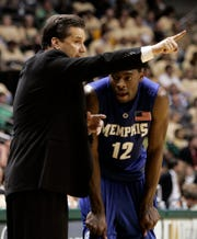 Then Memphis coach John Calipari helped improve Tyreke Evans' game.