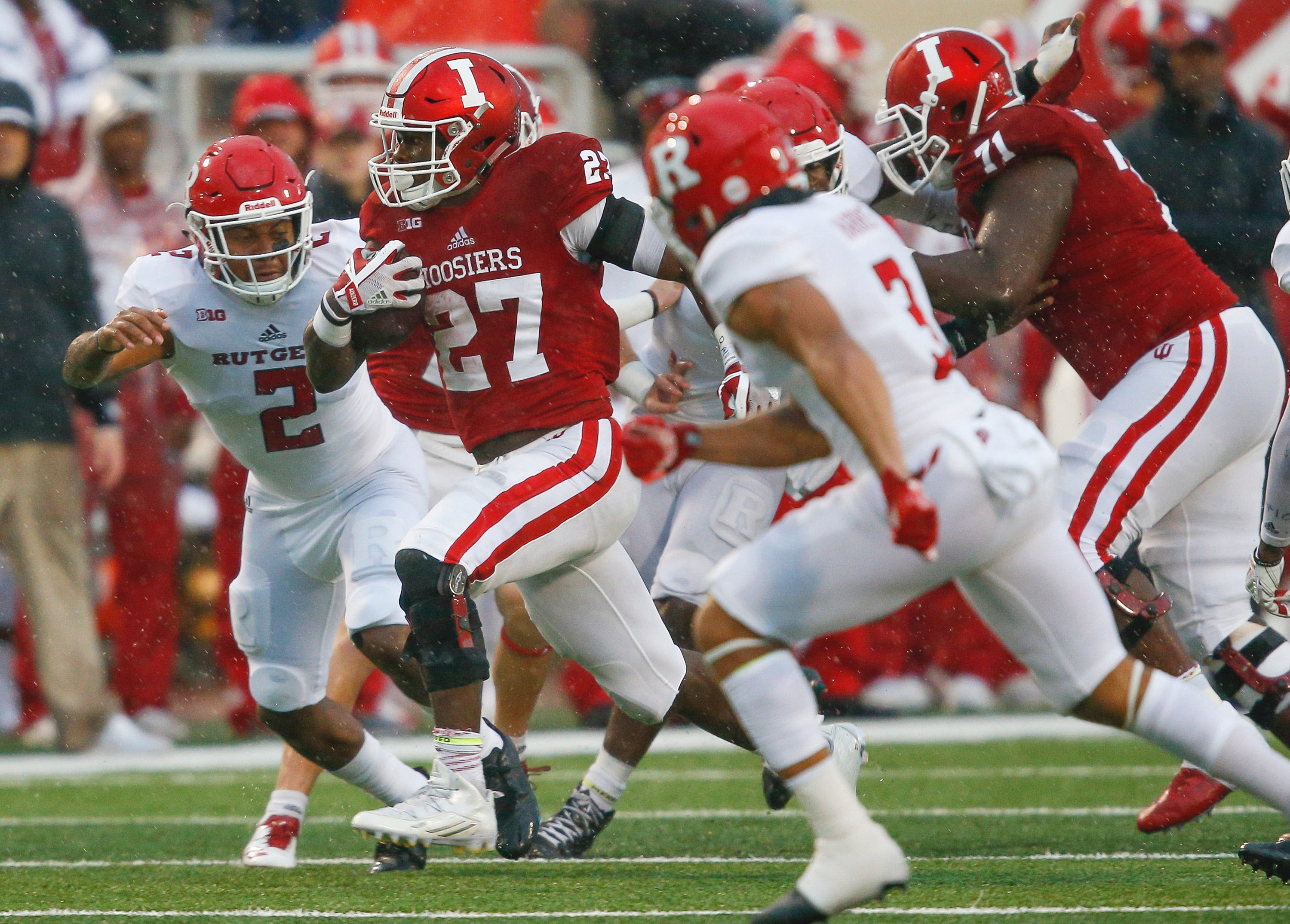 Indiana running back Morgan Ellison suspended by school for sexual assault of student