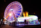 Clarion Ledger's Tyler Cleveland and Mackenzie Salmon braved a few rides on opening night of the Mississippi State Fair.