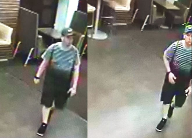 This man is suspected of sexual battery on a Purdue student who was leaving the Hicks Undergraduate Library on Thursday morning.